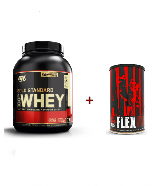 Whey Gold Standard si Animal Flex