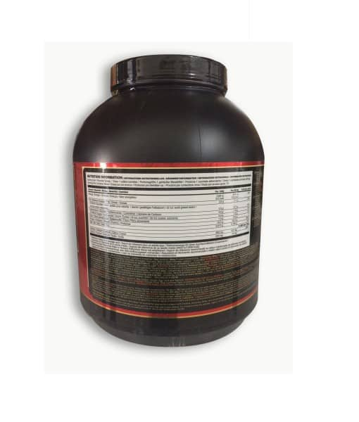 Informatii Nutritionale 1 Whey Gold Standard 5 lb Double Rich Chocolate