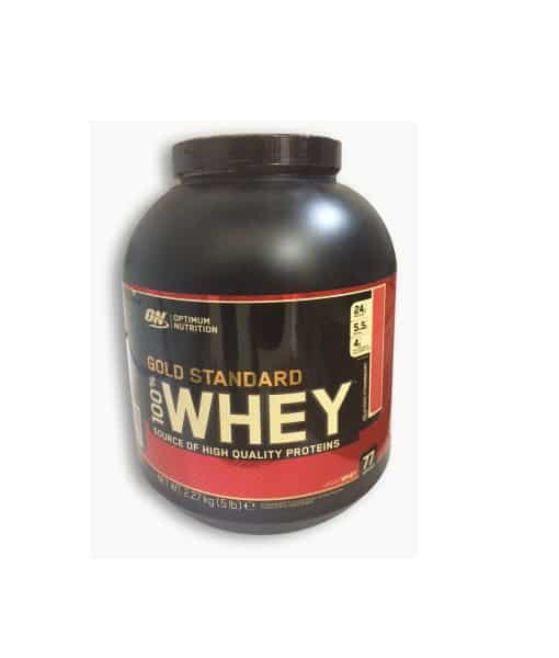 Whey Gold Standard 5 lb Delicious Strawberry