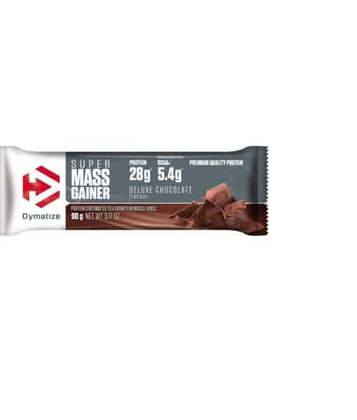 Super Mass Gainer Protein Bar Deluxe Chocolate