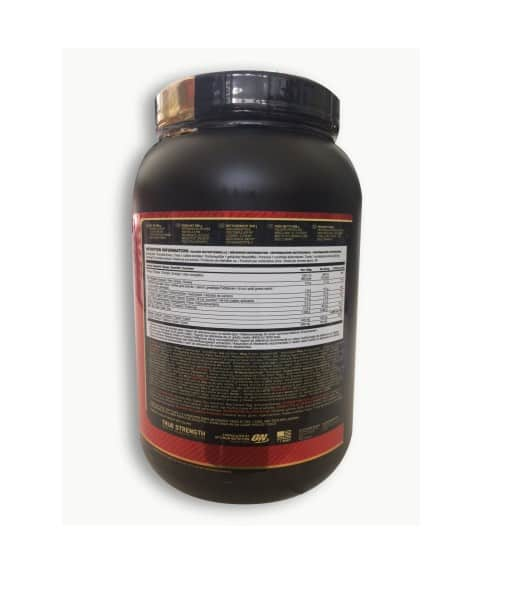 Informatii Nutritionale Whey Gold Standard 908 g Cookies and Cream