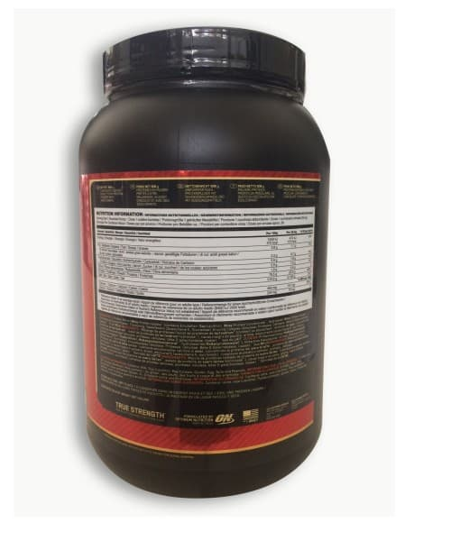 Informatii Nutritionale Whey Gold Standard 908 g Double Rich Chocolate