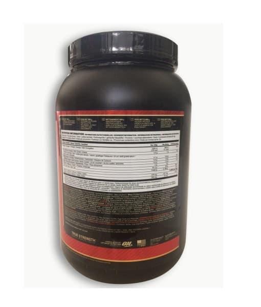 Informatii Nutritionale Whey Gold Standard 908 g Vanilla Ice Cream