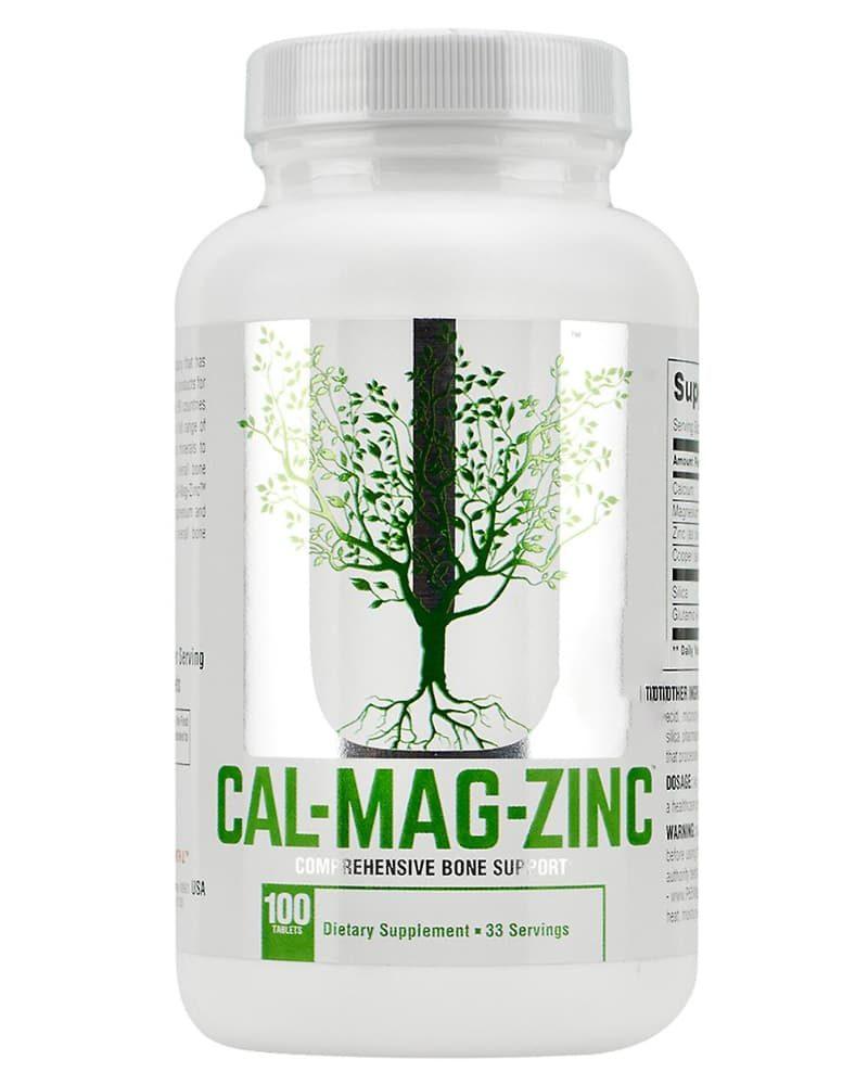 Universal Nutrition Calcium - Zinc - Magnesium 100 tabs