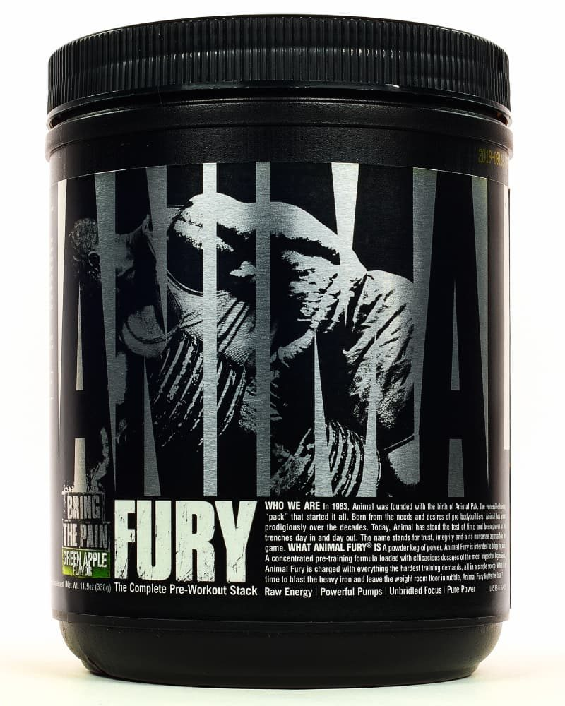 Universal Nutrition Animal Fury 20 servings