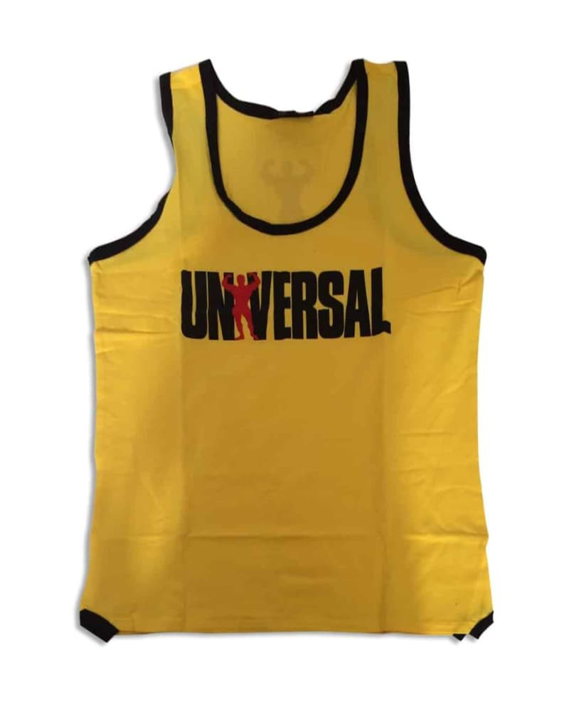 Universal Nutrition Iconic Tank Yellow