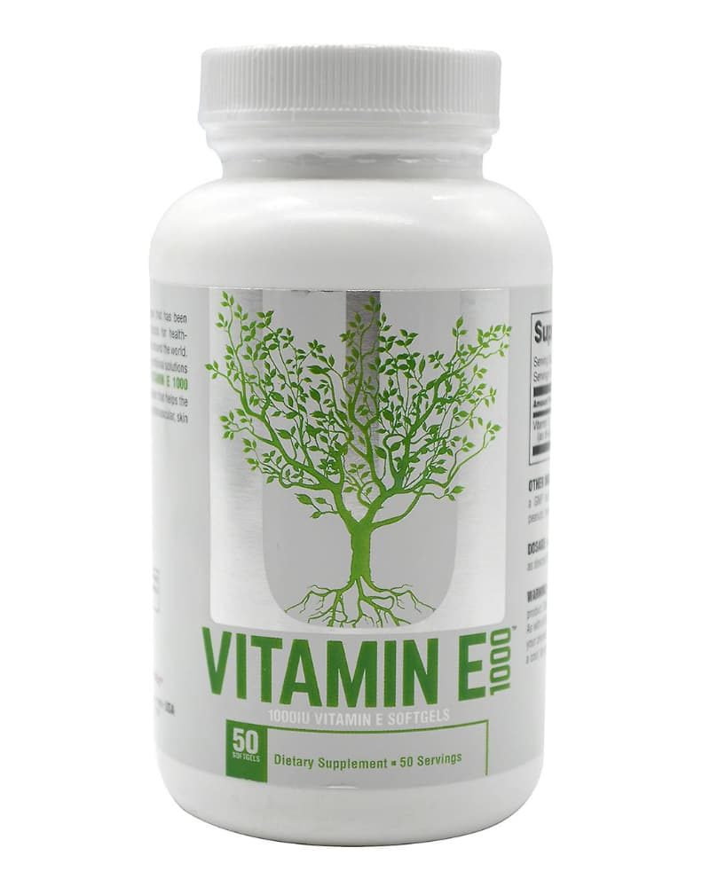 Universal Nutrition Vitamina E 1000 - 50 softgels