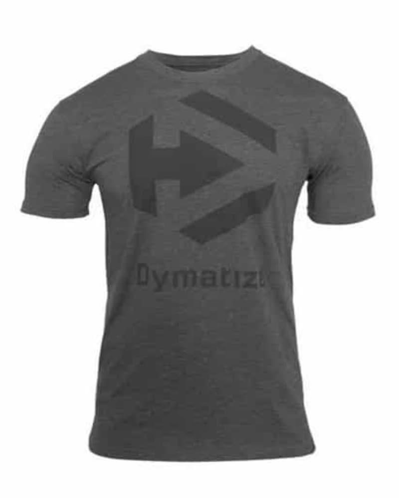 Dymatize Logo Tee Charcoal Heather