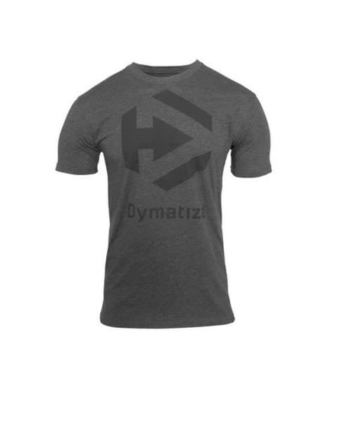Dymatize Logo Tee Charcoal Heather