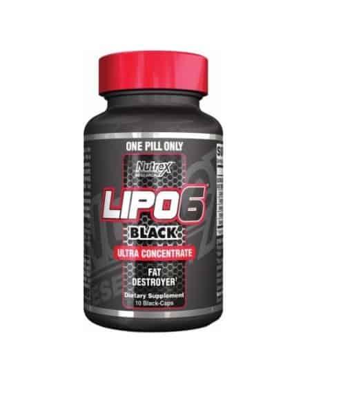 Lipo 6 Black 10 ct