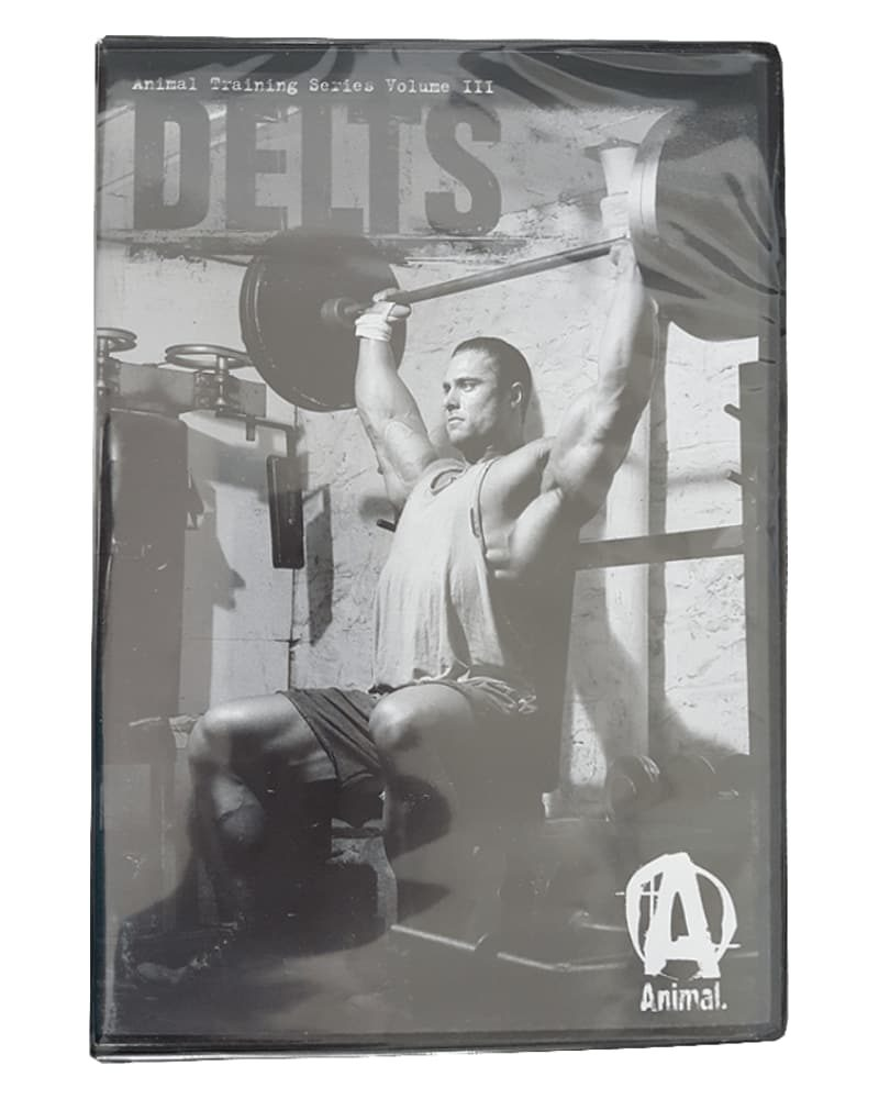 Universal Nutrition Animal DVD Delts Training