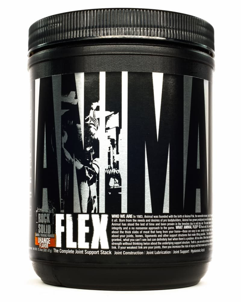 Universal Nutrition Animal Flex Powder 30 Servings - Orange