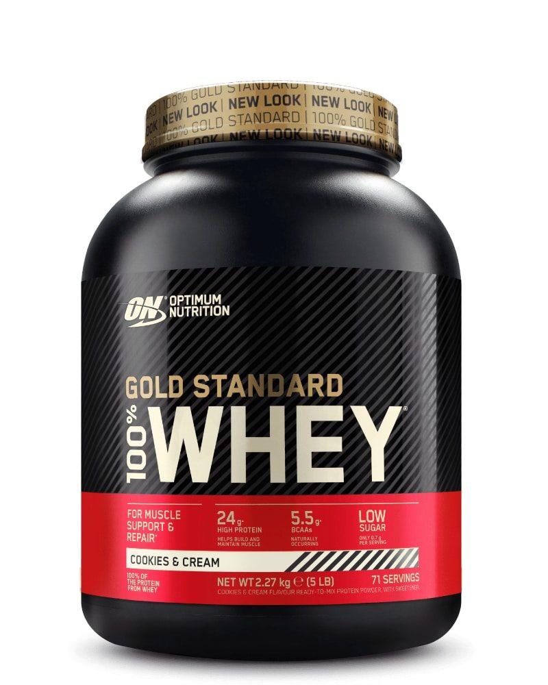 Optimum Nutrition Gold Standard Whey 2,27 kg - cookies & cream