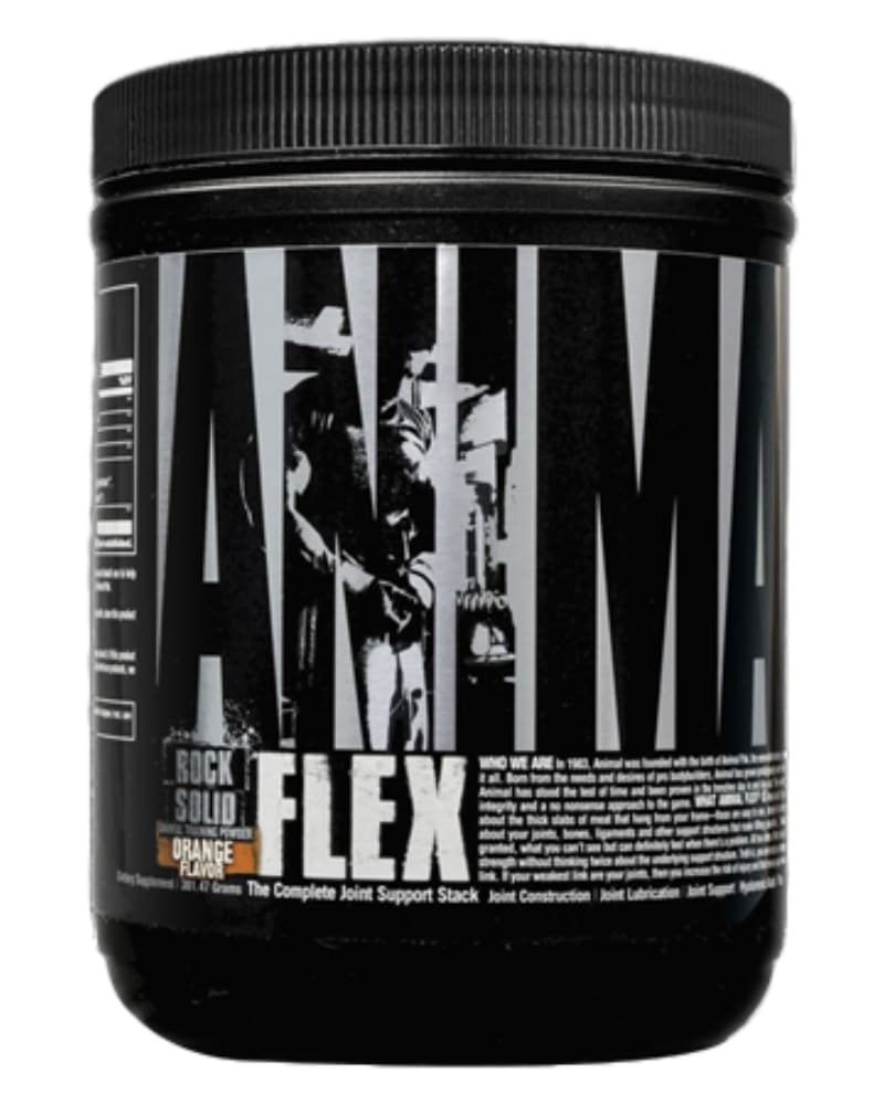 Universal Nutrition Animal Flex Powder 7 Servings - Orange