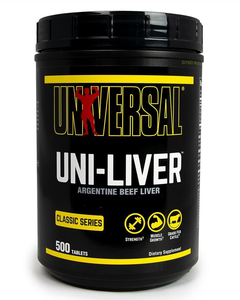 Universal Nutrition Uni-Liver 500 tablets