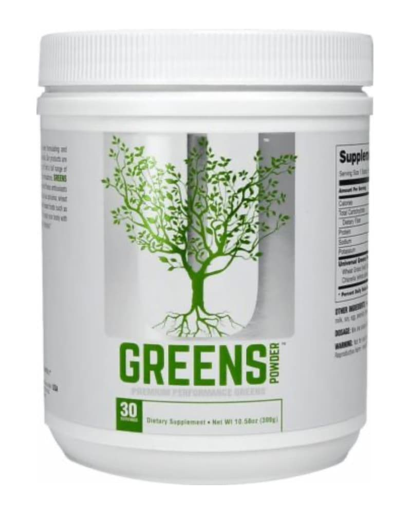 Universal Nutrition Greens Unflavoured 300 gr.