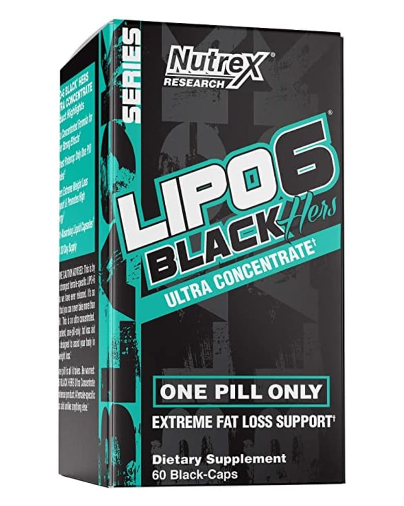 Nutrex Lipo 6 Black Hers UC 60 caps