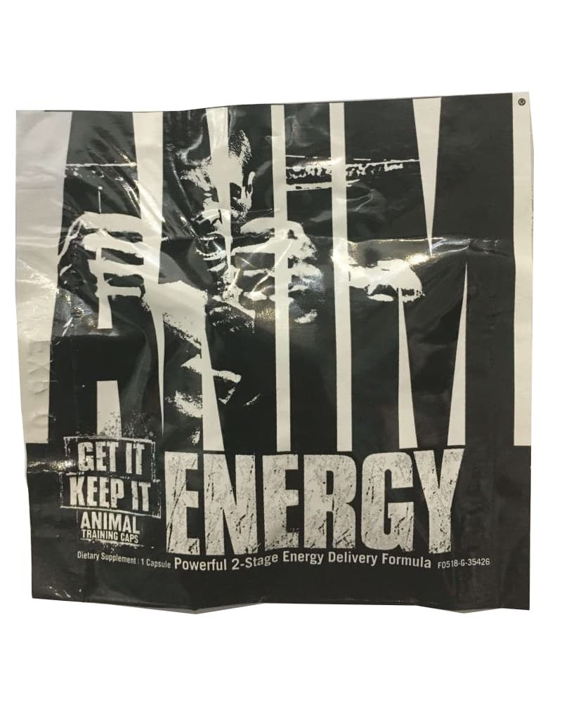 Universal Nutrition Animal Energy 1 serving