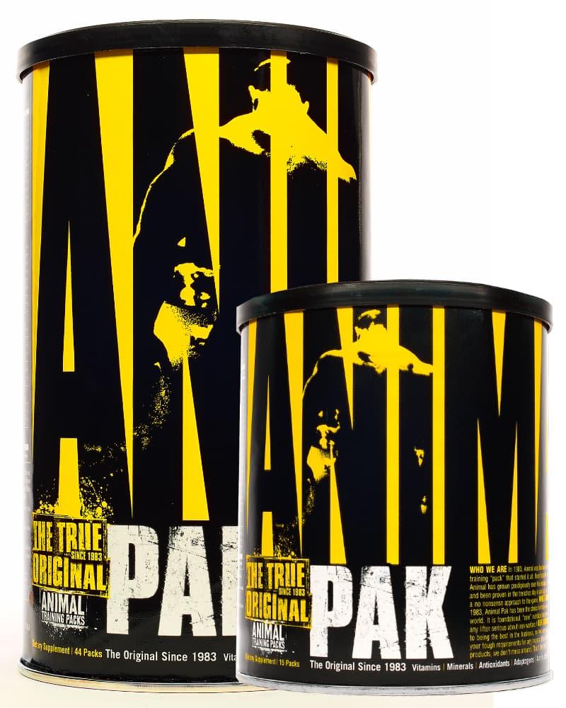 Universal Nutrition Animal Pak 15packs + Universal Nutrition Animal Pak 44packs