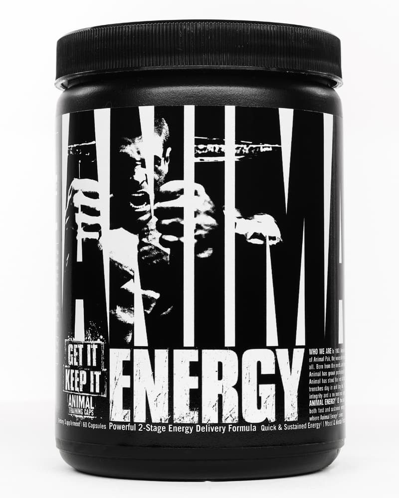 Universal Nutrition Animal Energy 60 caps