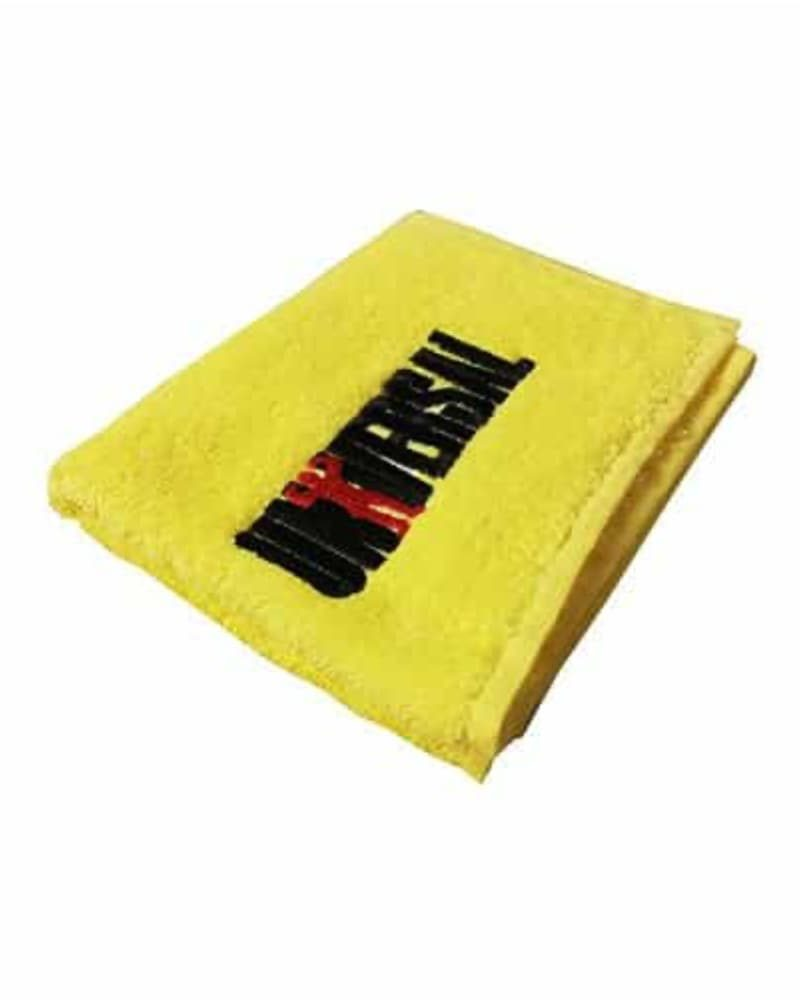 Universal Nutrition Workout Towel Yellow 26cm X 49cm