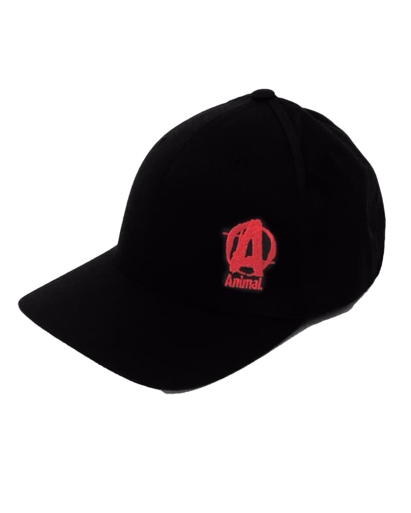 Universal Nutrition Black Cap with Red