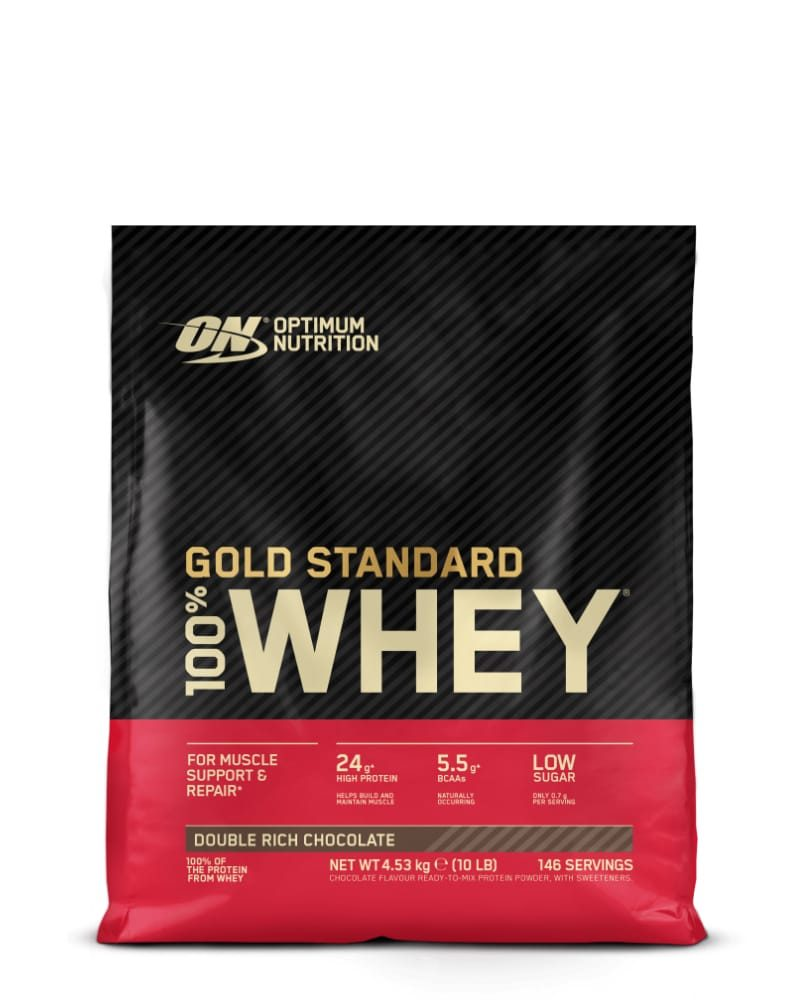 Optimum Nutrition Gold Standard Whey - 4,5 kg - double rich chocolate