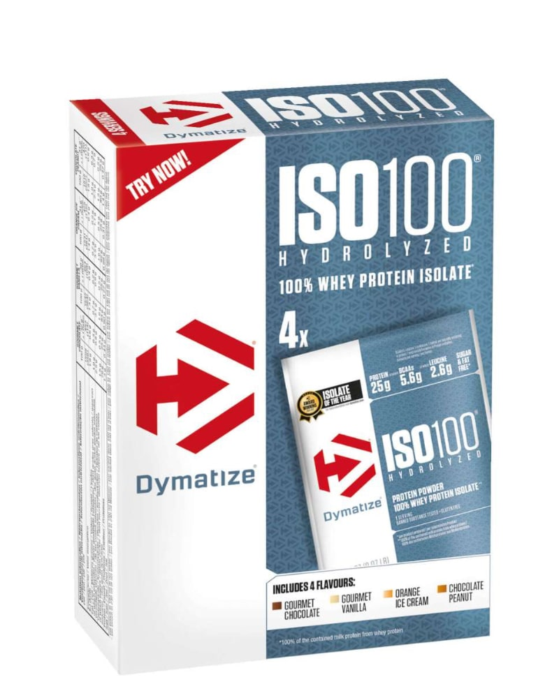 Dymatize ISO 100 Pack - 4 servings
