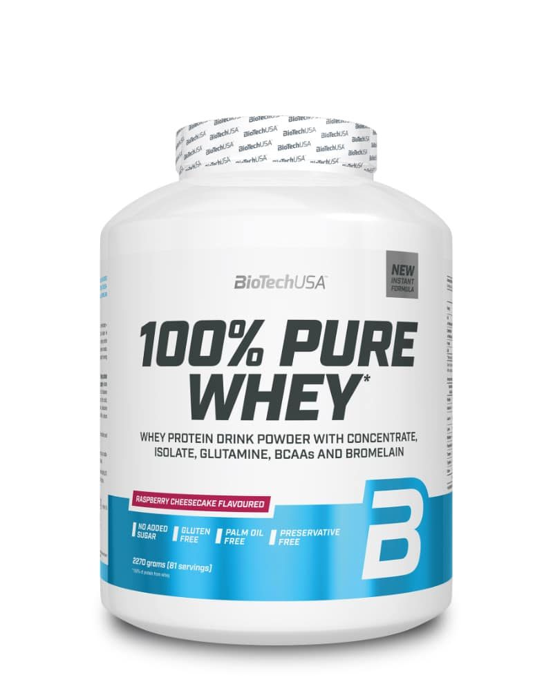 BioTech 100% Pure Whey - 2.27 kg