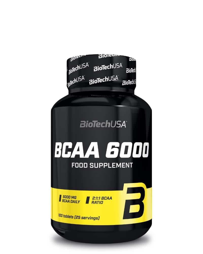 BioTech BCAA 6000 - 100 tabs