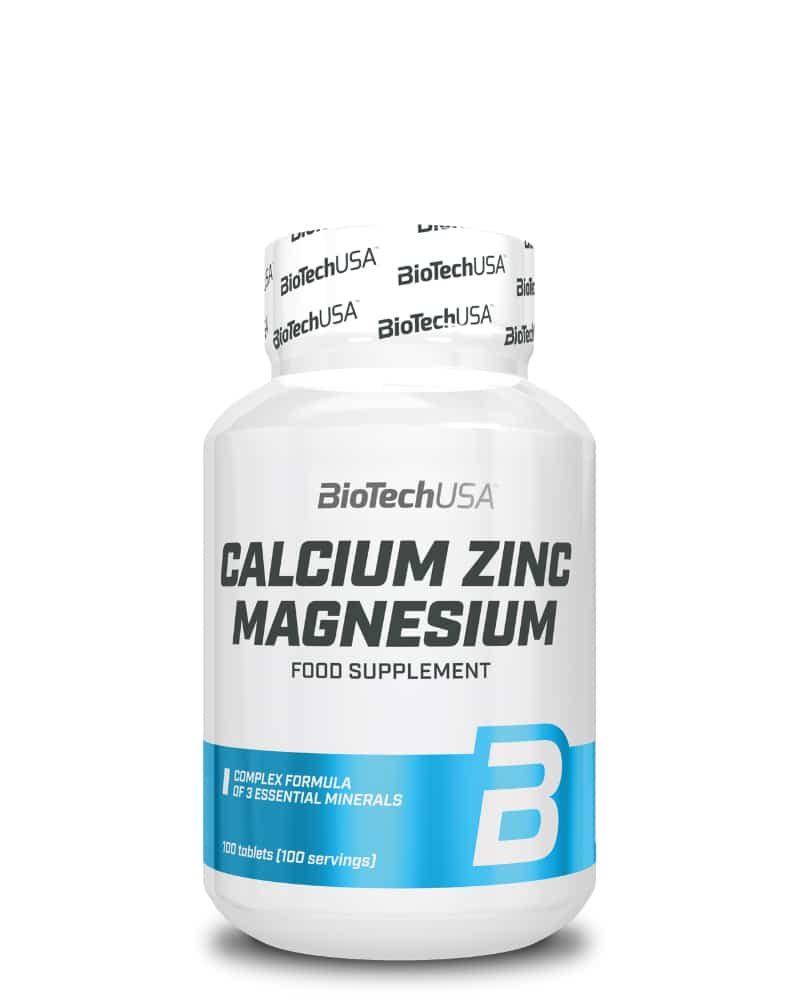 BioTech Calcium-Zinc-Magnesium - 100 tabs