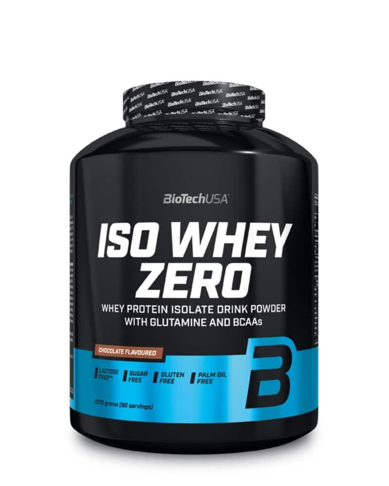 BioTech ISO Whey ZERO lactose free - 2.27 kg