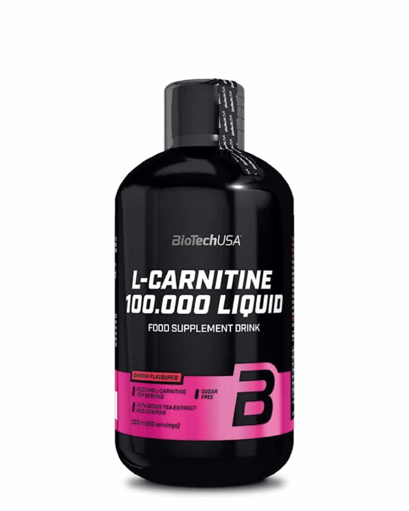 BioTech L-Carnitine 100.000 - 500 ml