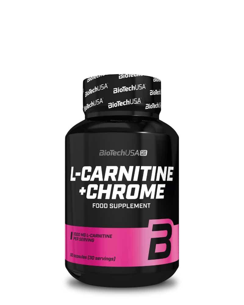 BioTech L-Carnitine + Chrome - 60 caps