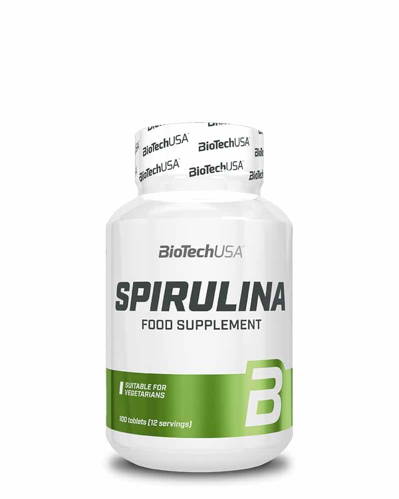 BioTech Spirulina - 100 tabs