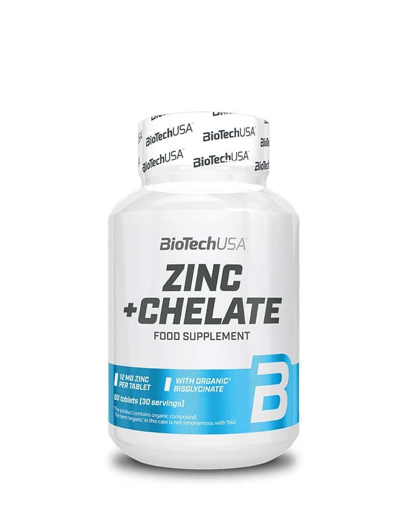 BioTech Zinc + Chelate - 60 tabs