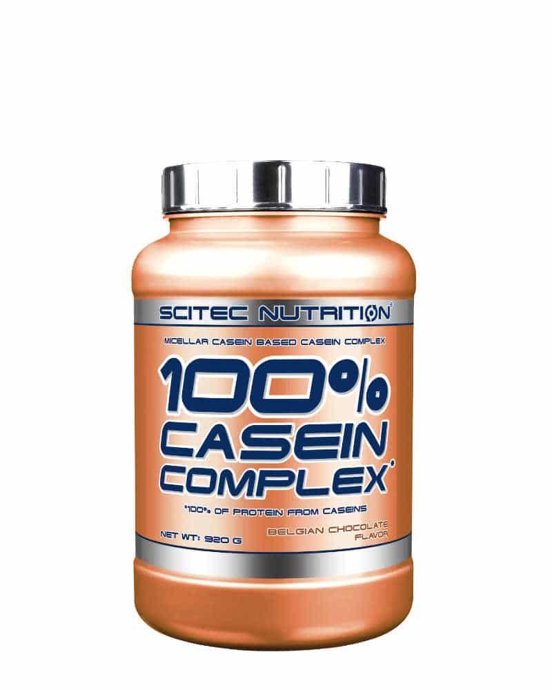 Scitec 100% Casein Complex - 920 g - belgian chocolate