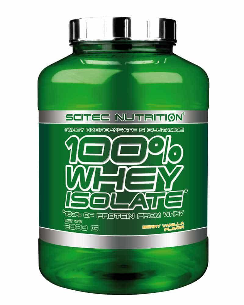Scitec 100% Whey Isolate - 2 kg berry vanilla