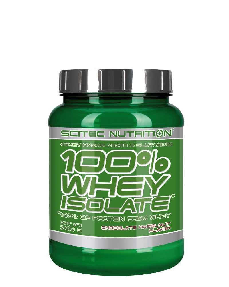 Scitec 100% Whey Isolate - 700 g chocolate hazelnut