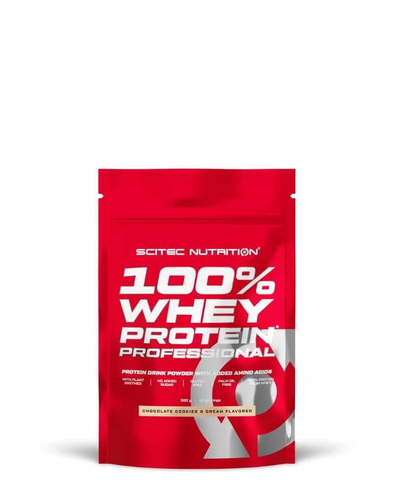 Scitec 100% Whey Protein Professional 500 g Cookies & Cream