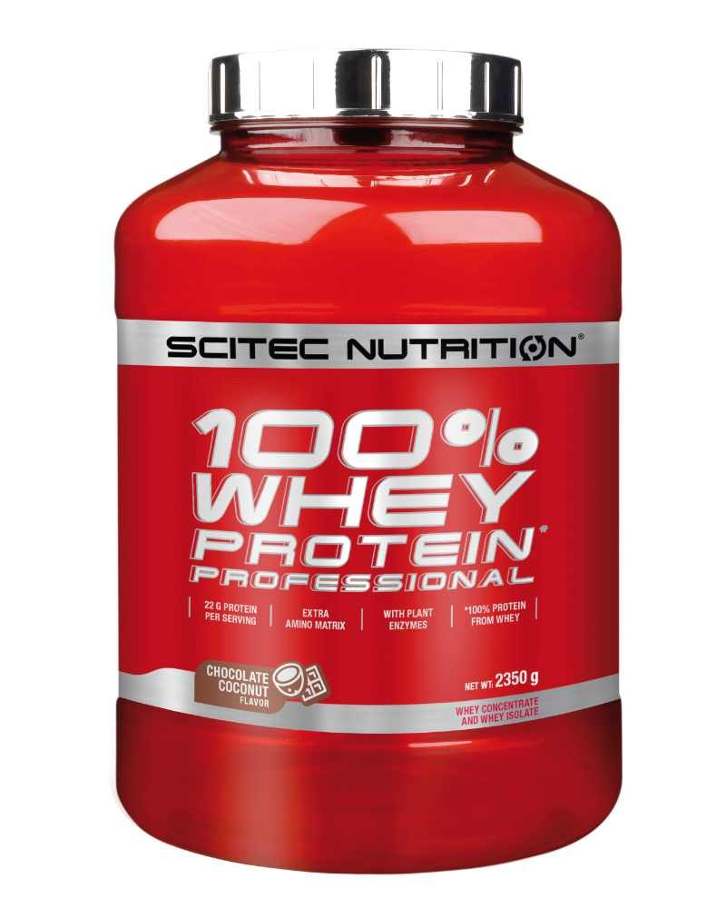 Scitec 100% Whey Protein Proffesional 2.35 kg chocolate coconut
