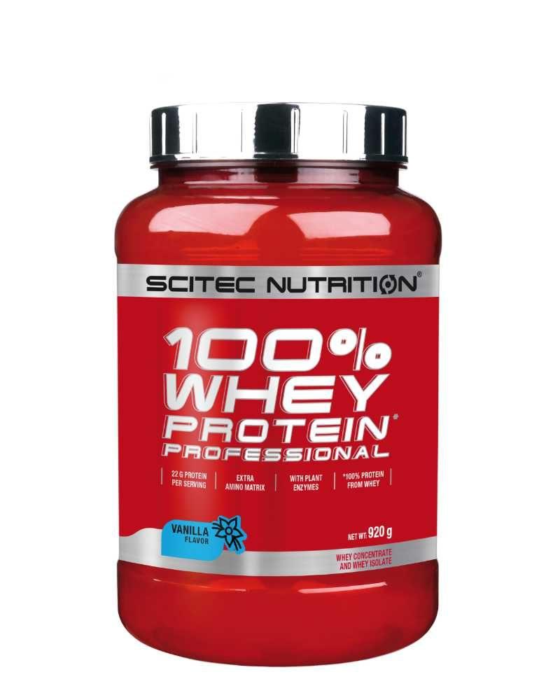 Scitec 100% Whey Protein Proffesional 920 g vanilla