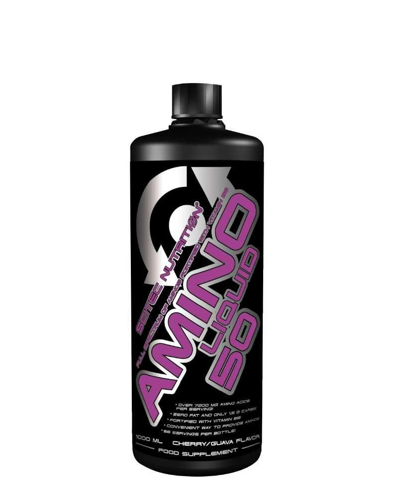 Scitec Amino Liquid 50 - 1000 ml - Cheery Guava