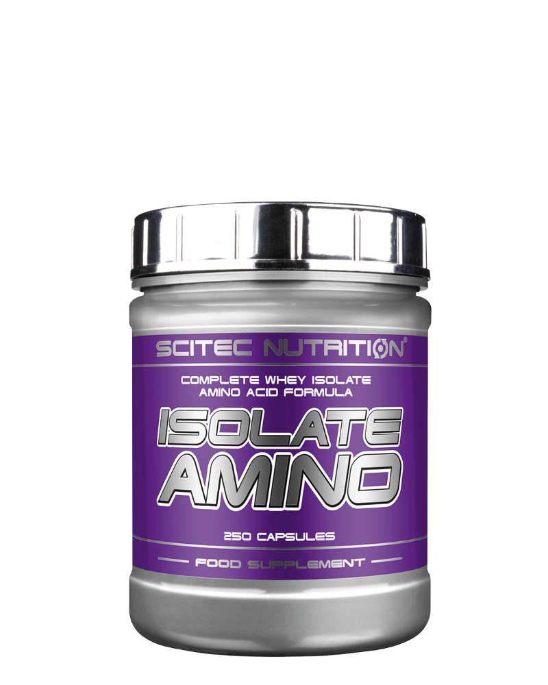 Scitec Isolate Amino - 250 caps