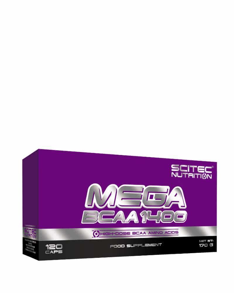 Scitec Mega BCAA 1400 - 120 caps
